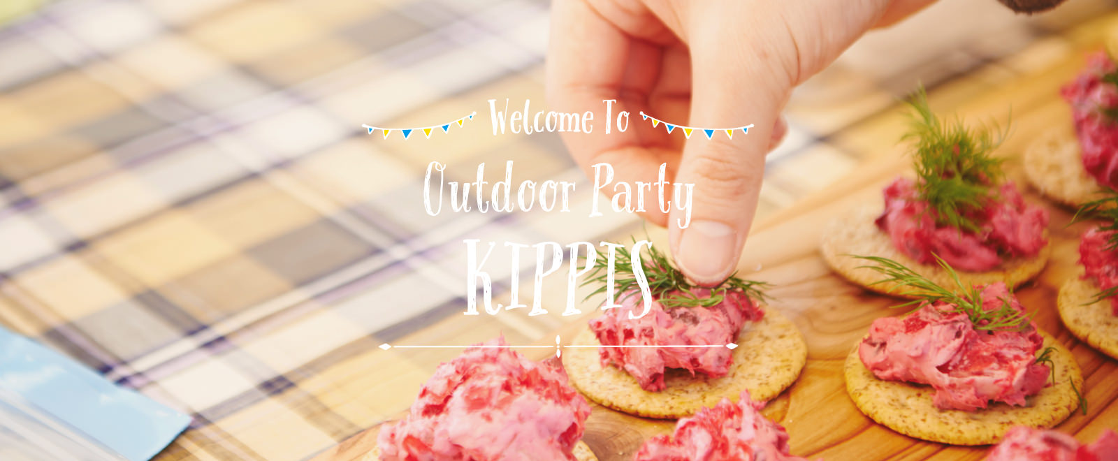 Welcome to OutdoorParty KIPPIS 料理